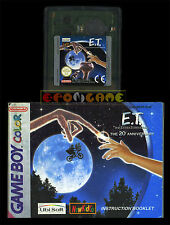 E.T.  L'EXTRATERRESTE ET Gameboy Color Versione Europea •••• CARTUCCIA E MANUALE