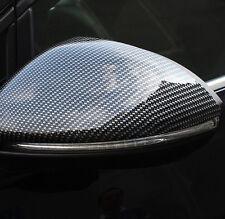 Carbon Fiber Style Side Mirror Cover Trim 2pcs  for VW Golf 7 MK7 2014 - 2017