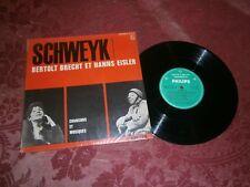 """25cm 10"""" / SCHWEYK / Brecht Eisler / Pia Colombo / philips"""