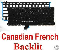 Apple MacBook Pro A1502 Keyboard - CF - Canadian French - Backlit
