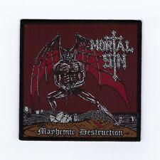 "Mortal Sin ""Mayhemic Destruction Patch metallica-onslaught-testament-xentrix-sod"