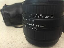 Sigma Aspherical Zoom 28-70mm f2.8-4 Sigma SA mount full frame