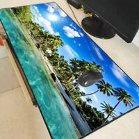 XXL Gaming Mauspads Groß Strand Wasser Meer Mausunterlage Computer PC Mousepad x