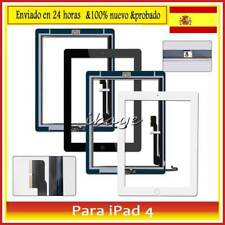 Pantalla Tactil para iPad 4 Digitalizador Touch Screen +Botón Negro /Blanco AAA+