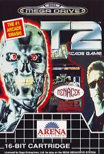 ## Terminator 2: The Arcade Game T2 - SEGA Mega Drive / MD Spiel - TOP ##