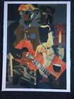 Roman Bearden - Serenade (1969) - Vintage Lithograph Art Print