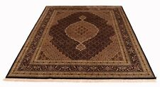 Tabriz Mahi fein 300 x 248 cm Orientteppich handgeknüpft Schurwolle/ Seide, Neu