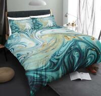 3D Green Abstract ZHUB1299 Bed Pillowcases Quilt Duvet Cover Queen King Zoe