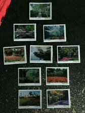 2020USA Forever American Gardens - Set of 10 Singles  mint postage flowers