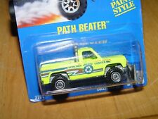 🛺PATH BEATER 1993 Hot Wheels⭐Col #198 Card #2781 asw-ct VARIATION NEW Paint❌NIP