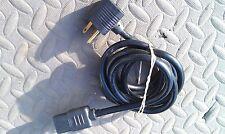 9C86 PC POWER CORD, UNUSUAL CONFIGURATION, 90 DEG X 45 DEG W/PASS THRU, 18/3, 6'