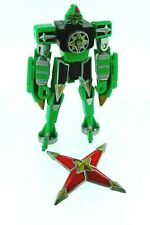 Power Rangers Ninja Storm : 2002 Bandai : Green Megazord with Star