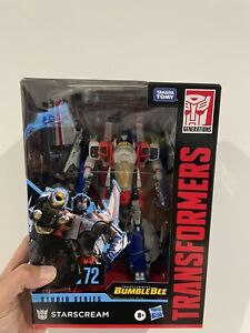 Transformers Studio Series SS72 STARSCREAM (Voyager Class) NIB Express Shipping