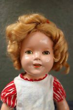 "13"" Composition Ideal Shirley Temple Doll - Beautiful Condition!"