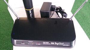 IMG STAGE-LINE by Monacor TXS-143SET Funkmikrofon für Profis mit Spitzenklang