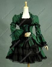 Victorian Lolita Fairy Witch Dress Cosplay Steampunk Halloween Clothing 233 XL