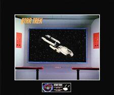 """STAR TREK Enterprise Bridge - Constellation Wrecked 8""""x10"""" Photo-11""""x14"""" Matted"""