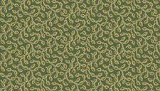 Fabric 100% cotton, Makower UK. Trinkets Green