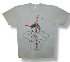 Sigur Ros-Scribble-X-Large Light Grey Lightweight T-shirt