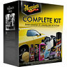 MEGUIAR'S COMPLETE KIT 7 ESSENTIALS FOR CLEANING YOUR CAR