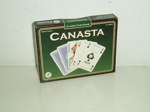 """""""Canasta"""" by Piatnik. (New & Sealed). 1985."""