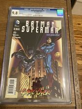 Batman/superman #5 CGC 9.8 Grek Pak Story 2014 Jon Bogdanove Cover