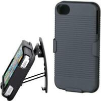 HARD SHELL COMBO CASE SHOCK-PROOF CARRYING HOLSTER SWIVEL W3M for IPHONE 5 / 5S