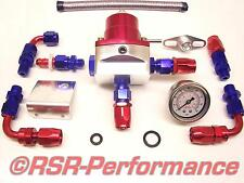 Benzindruckregler SET XXL + Manometer VW Opel VR6 16V G60 G40 Turbo C20LET Vtec