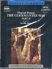 Audio book - The Guermantes Way: Part II by Marcel Proust   -   Cass   -   Abr