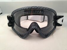 OAKLEY O FRAME MX MOTOCROSS GOGGLES True Carbon Fiber/Clear enduro new