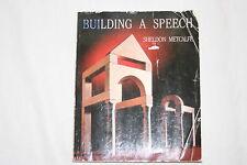 Building a Speech by Sheldon Metcalfe (1991, Paperback)