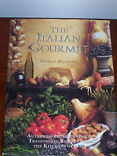 THE ITALIAN GOURMET - GIORGIO MISTRETTA - HCDLJ - HUGE BOOK!