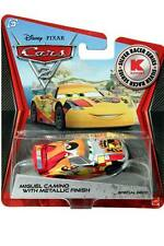 2012 Disney Cars 2 Metallic Finish Silver Racer Series Miguel Camino KMART