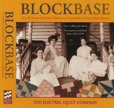 Blockbase Software From Electric Quilt and Barbara Brackman