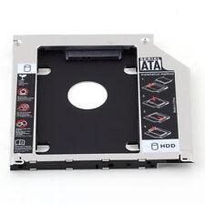 For Apple Macbook Pro Unibody 2nd HDD SSD SATA Hard Drive Caddy Optibay 9.5mm mf