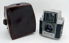 Vintage Bell & Howell Electric Eye 127 Camera & Genuine Leather Case #3936