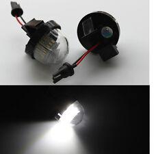 2x White LED License Plate Light For Suzuki Vitara Fourth generation 2015-2017