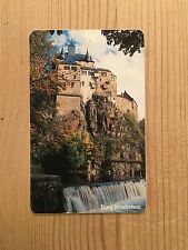 PHONECARD PHONE CARD TELEFONKARTE USED BURG KRIEBSTEIN CASTLE GERMANY