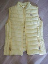 Clarina Sommer Steppweste Weste gelb Größe 36
