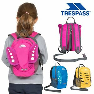 Trespass Kids Harness Backpack Baby Toddler Safety Backpack with Reins