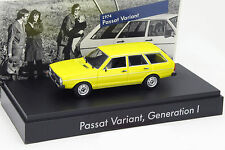 Volkswagen VW Passat Variant I. Gen. Baujahr 1974 gelb  1:43 Minichamps
