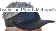 Visor Hat - Unisex - Lamb Skin Leather