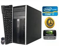 HP Gaming PC Desktop Computer *Intel Core i7 QUAD* NVIDIA GTX 1050, Win10, 1TB