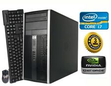 HP Gaming PC Desktop Computer *Intel Core i7 QUAD* NVIDIA GTX 1050, Win10, 1TB