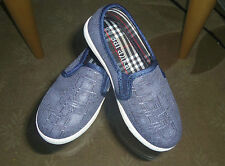 Boy's/Girl's/Unisex Slippers Flat Shoes US SIZE 10 BLUE JEANS COLOR
