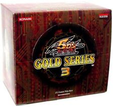 YuGiOh Gold Series 3 2010 Exclusive Booster Box [5 Packs]