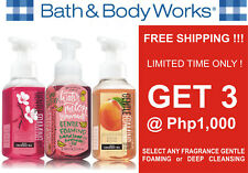 bath & body bbw buy any 3 @ P1,000 foaming or deep cleansing hand soap #crzyj
