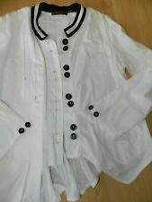 Ensemble Robe et veste noir et blanc marque ENJOY 38/ 40