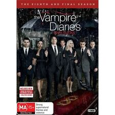 THE VAMPIRE DIARIES-Season 8-Region 4-New AND Sealed-5 Dics Set-TV Series
