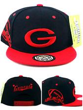 Georgia New Leader G Youth Toddler Bulldogs Color Black Red Era Snapback Hat Cap